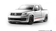 New Volkswagen Amarok R-Style Concept images emerge