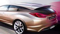 2013 Honda Civic Wagon Concept