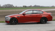2014 BMW M5 facelift spied in Europe