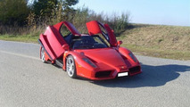 Ferrari Enzo replica powered by BMW V12 engine