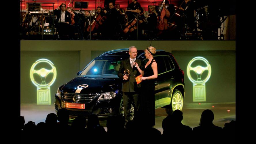 Volante d'oro per Volkswagen Tiguan e Audi A4