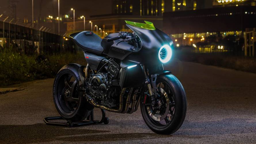 Honda CB4 Interceptor, imaginando la 'cafe racer' del futuro