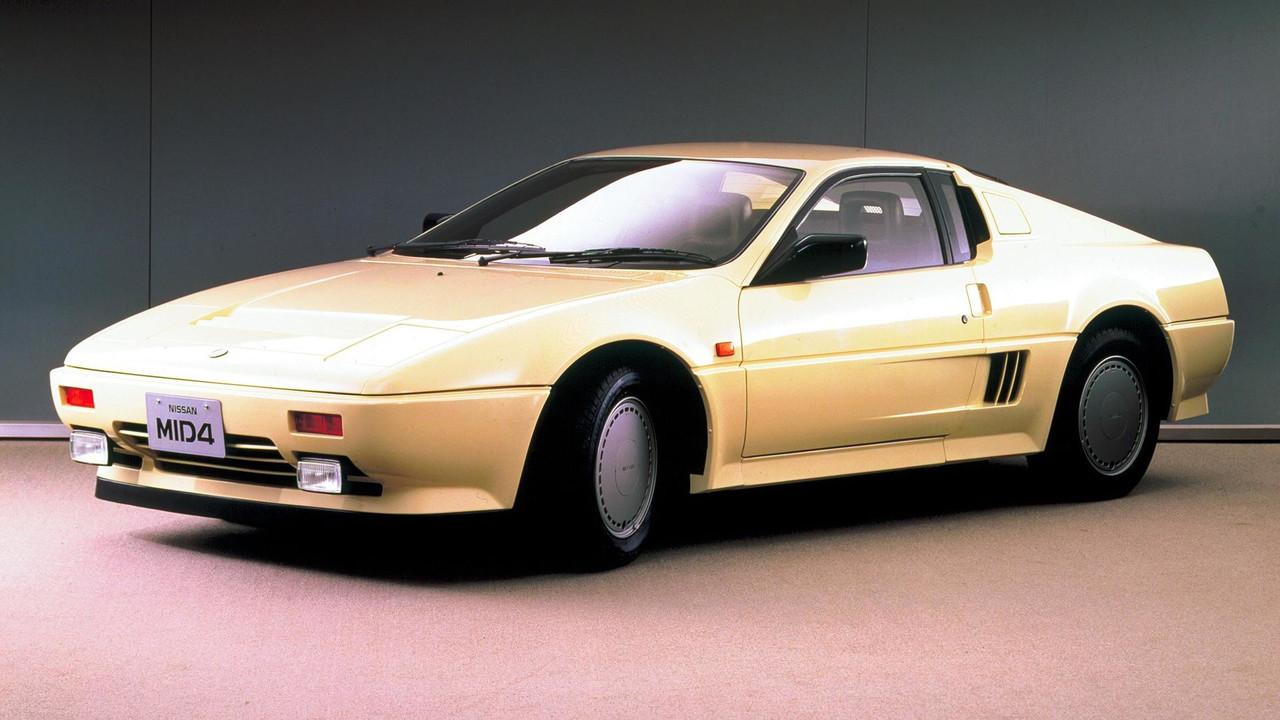 1985 Nissan MID4 concept