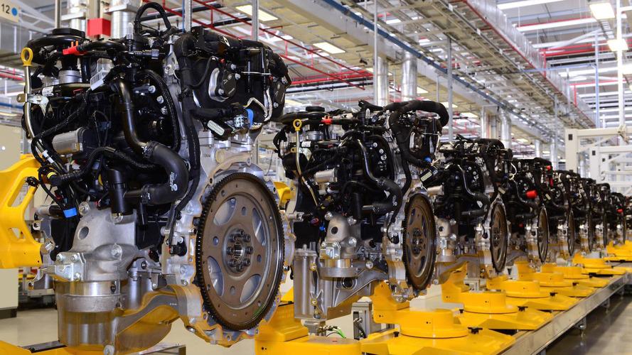 Jaguar yeni dört silindirli motorlarının üretimini başlattı