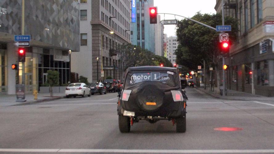 2018 Jeep Wrangler Spy Photos In Los Angeles