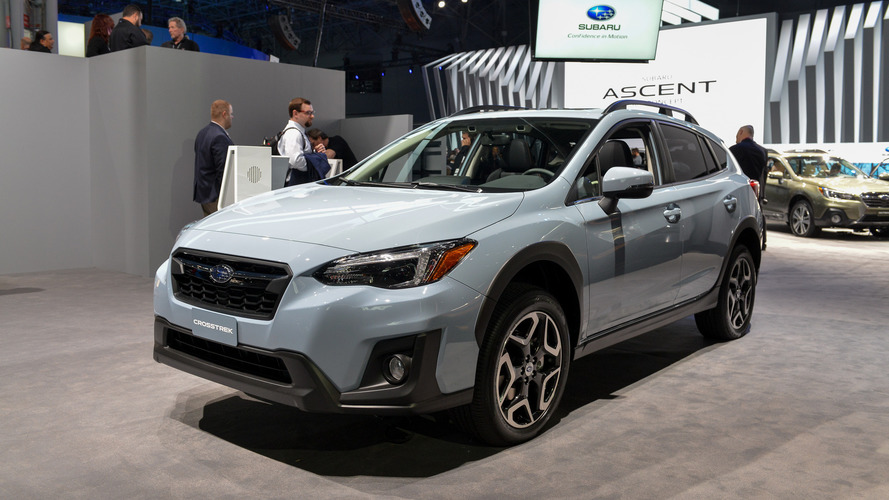 2018 Subaru Crosstrek Gets More Power, Fresh Look For New York