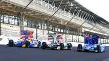La première ligne de l'Indy 500 2017