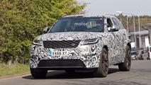 Land Rover Range Rover Velar SVR Spy Pics