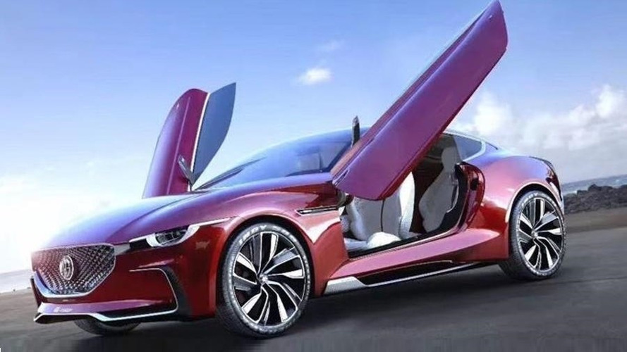 MG E-Motion Concept Revealed in Leaked Images