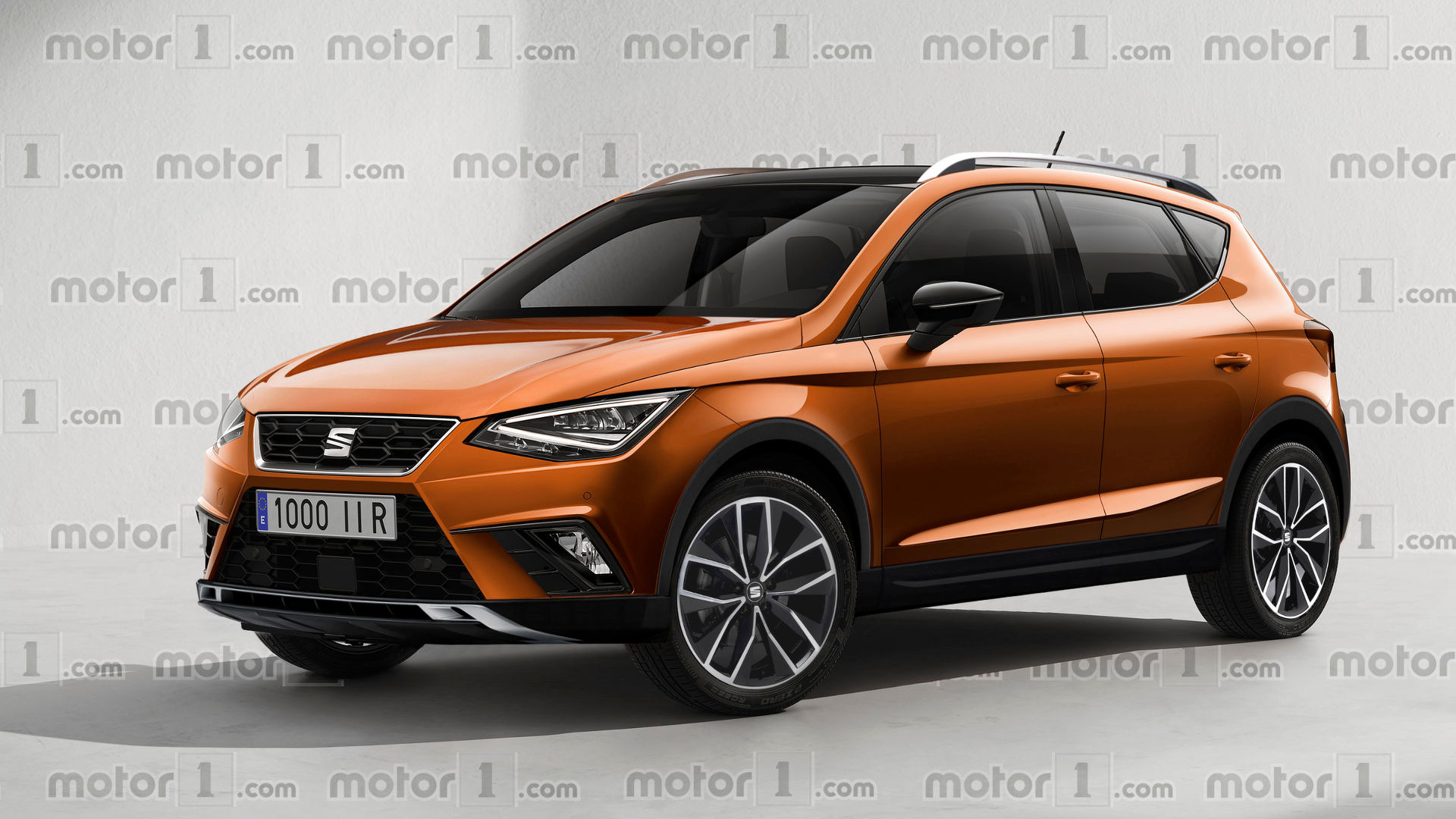 SEAT Arona render previews the Ibiza on high heels