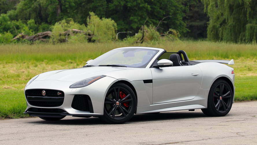 2017 jaguar f type svr convertible review why it s better to go topless. Black Bedroom Furniture Sets. Home Design Ideas