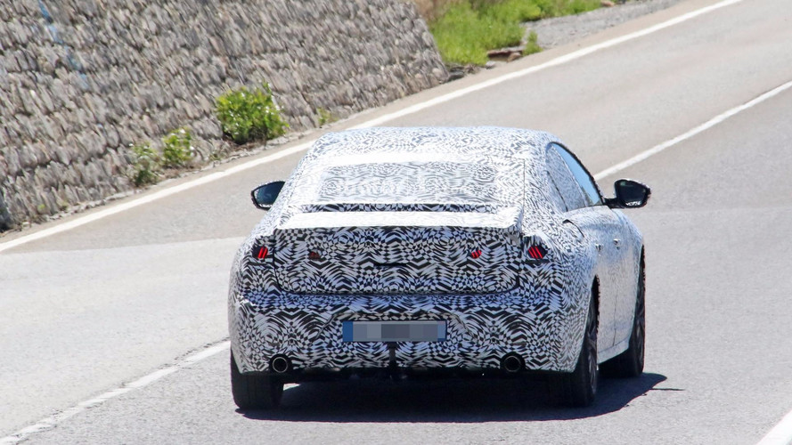 Peugeot 508 2018, fotos espía