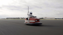The Stig bumper car Guinness record
