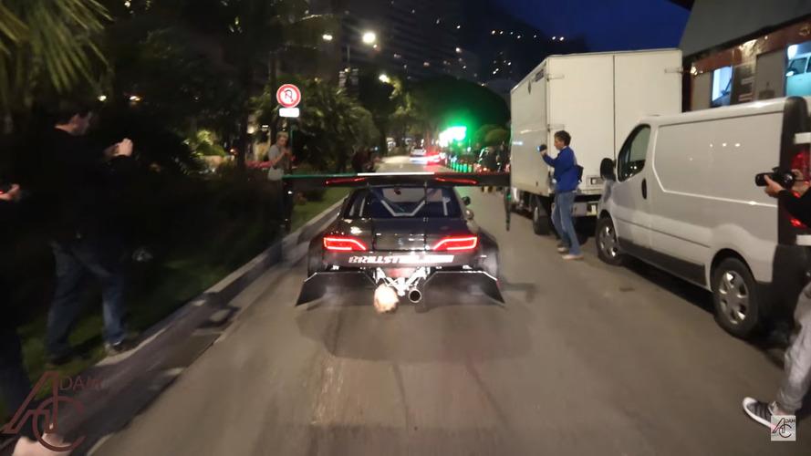 VIDÉO - Une Nissan Silvia de 700 ch sème le chaos à Monaco