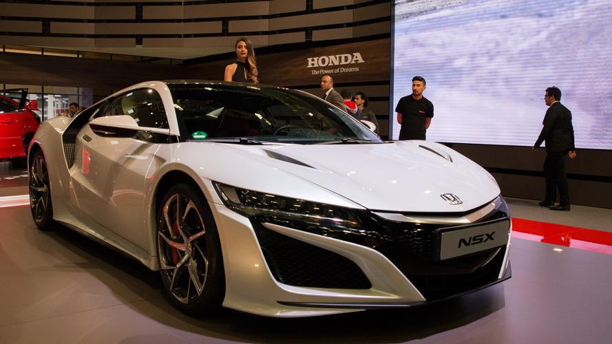 Civic Type R'ın ağabeyi Honda NSX İstanbul Autoshow'a geldi