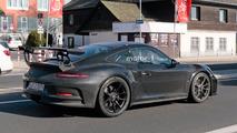 Porsche 911 GT3 RS Refresh Spy Pics
