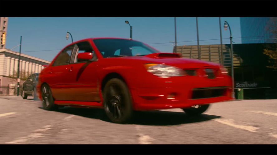 Baby Driver movie has a Subaru WRX and a killer soundtrack