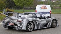 Dallara road car spy photo