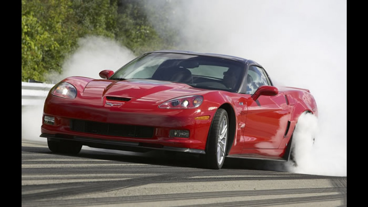 Vídeo: Comercial do Corvette ZR1