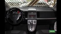 Garagem CARPLACE: Detalhes do acabamento interno do Nissan Sentra S