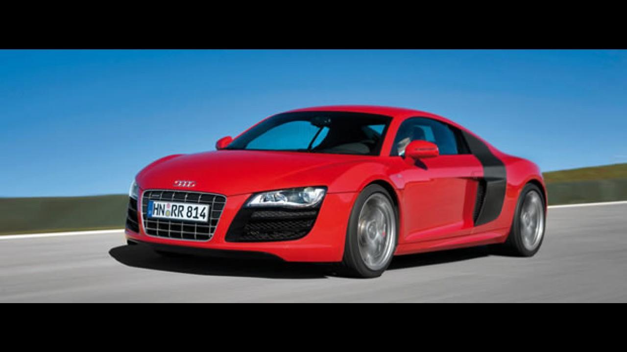 Vídeo: Veja comercial onde Audi R8 passeia pela cidade da Ferrari e provoca a ira dos moradores