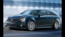 Cadillac revela o Novo CTS-V Sport Wagon 2011 - Modelo tem motor V8 do Corvette