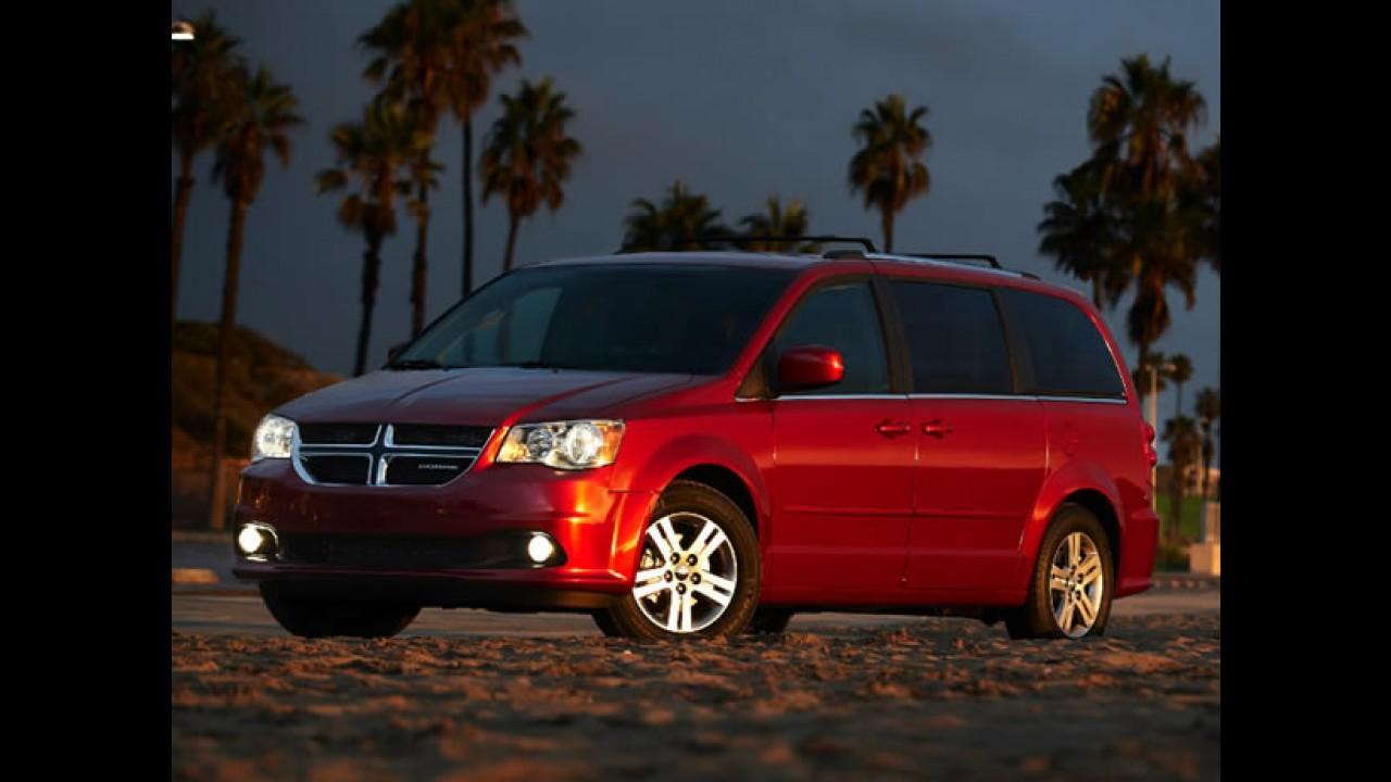 Utilitário mesmo: Dodge Grand Caravan dá origem a Ram Cargo Van