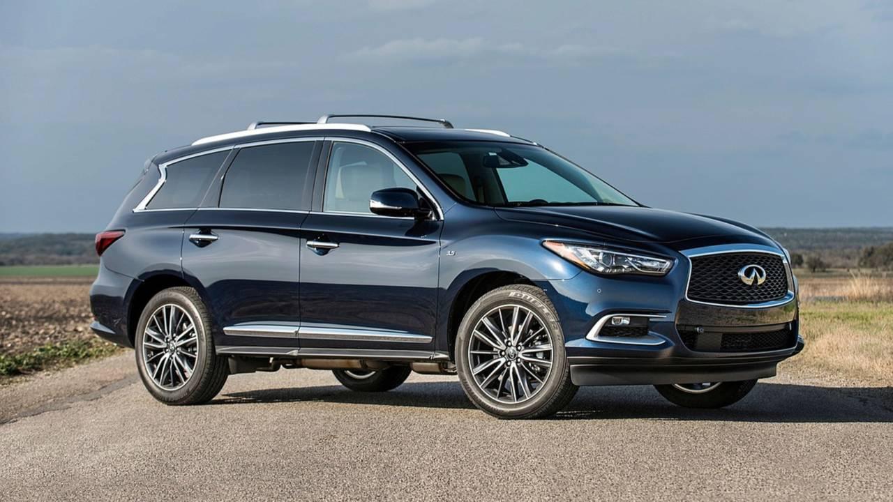 suv qx60 infiniti luxury crossover suvs cheapest midsize trucks motor1 own prev minivans