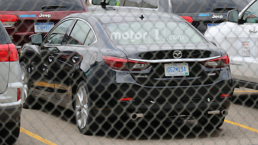 Mazda6 SkyActiv-D Spied At U.S. Environmental Protection Agency