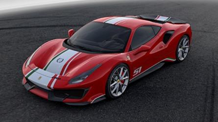 Ferrari 488 Pista Piloti Ferrari, la special per chi corre