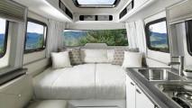 Der Airstream Nest ist ein GFK-Wohnwagen