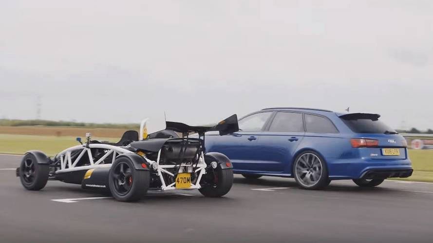 Audi RS6 Avant Drag Races Ariel Atom With Predictable Outcome