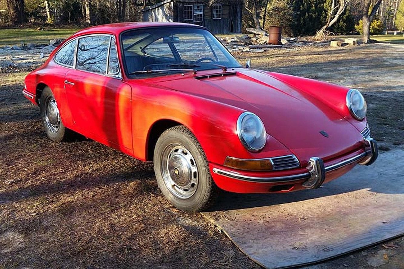 This '66 Porsche Barn Find Looks Delightful in Dust
