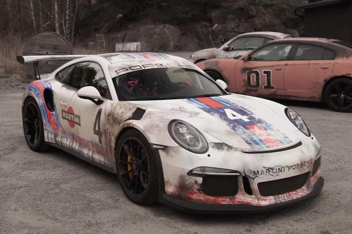 Don't Worry, This Worn-Out Looking Porsche is Actually Brand New