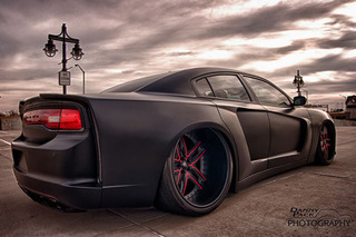 Hellcat Beware! This Widebody Charger is a Real Terror