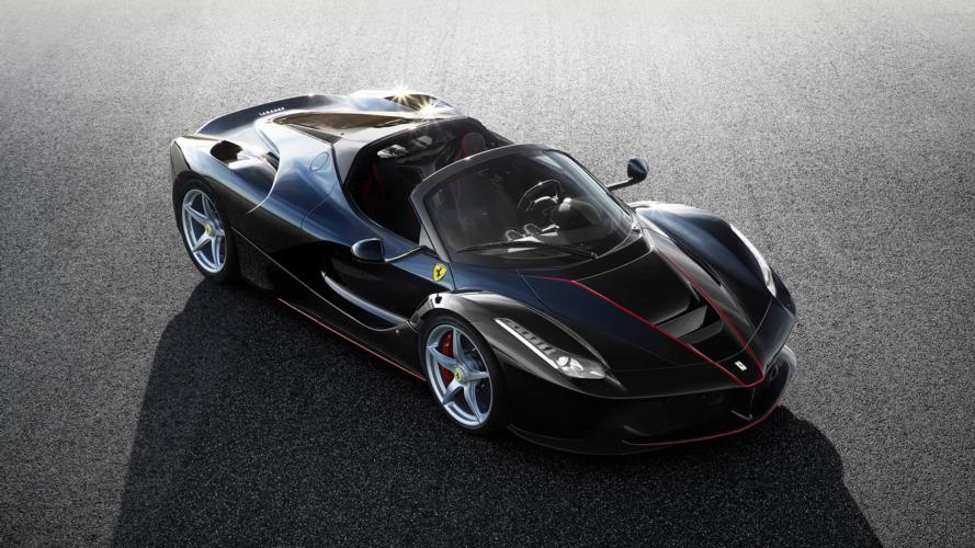Ferrari LaFerrari Aperta: elle enlève le haut