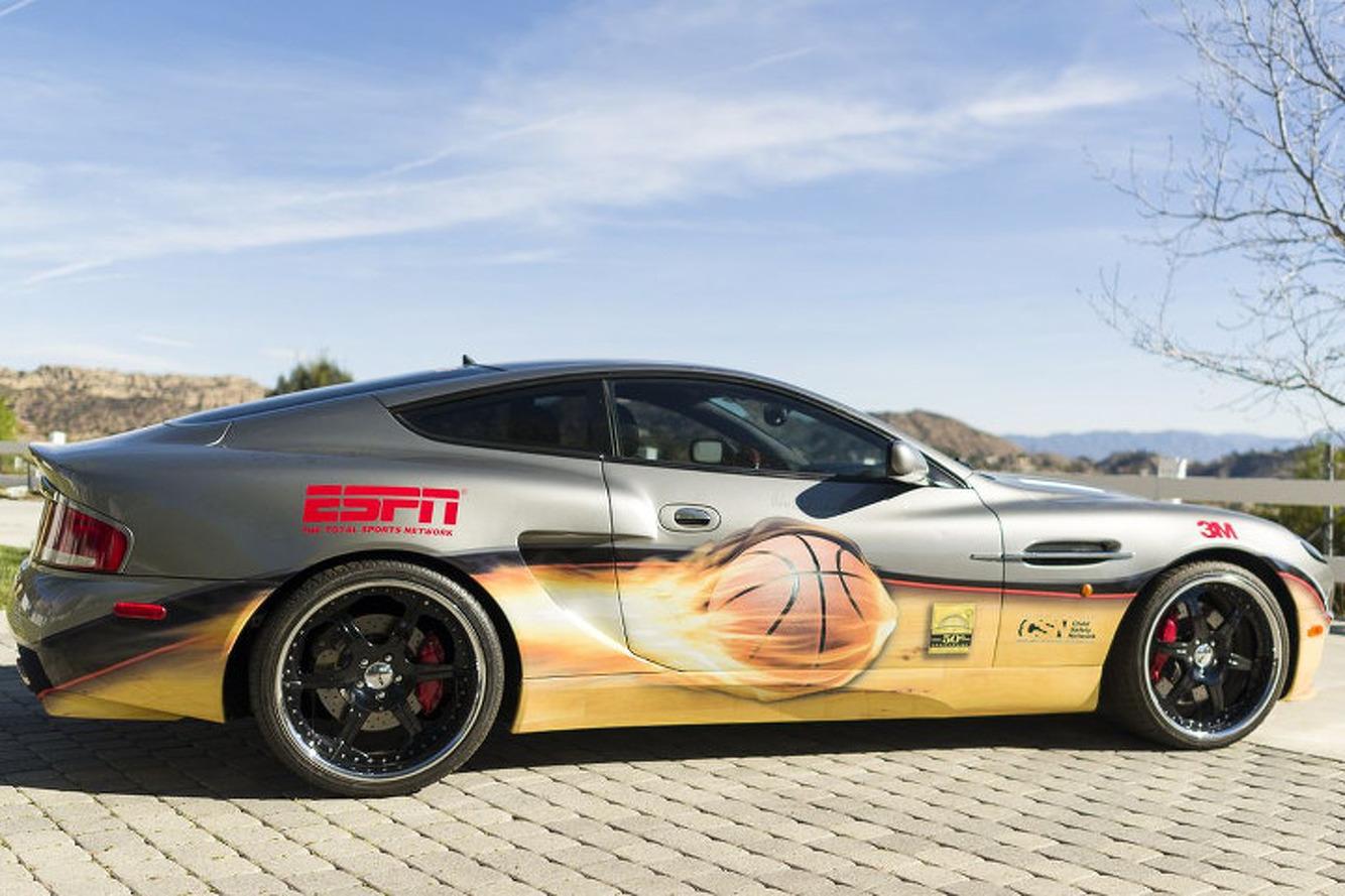 Aston Martin Signed by Michael Jordan Valued at $1.25 Million