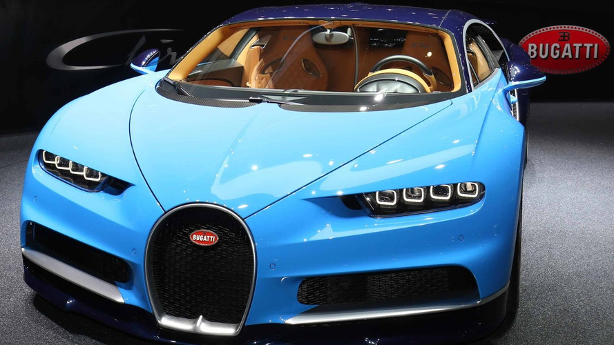 Bugatti Chiron officially revealed with 420 km/h top speed