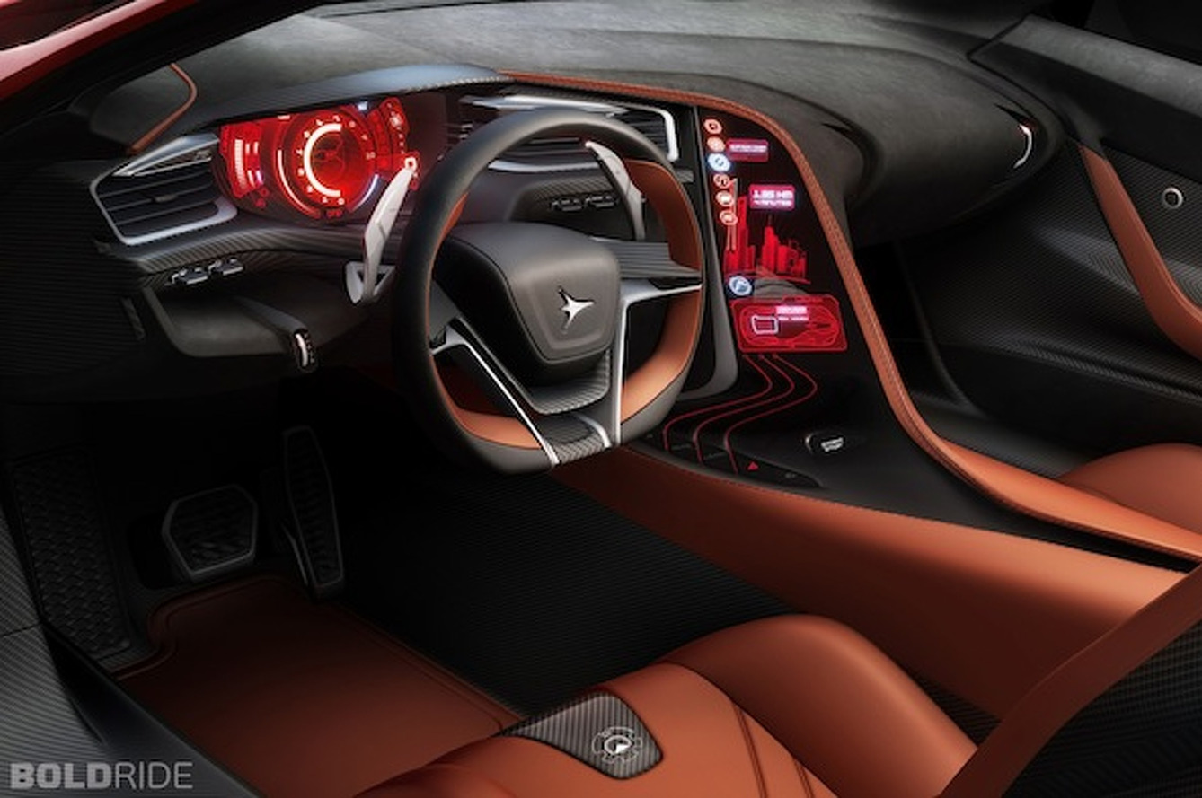 Holy Crap the Interior of the Icona Vulcano is Sexy
