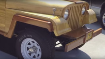 Wooden Jeep CJ-5