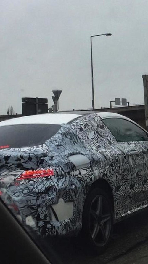 Mercedes-Benz C-Class Coupe spied in Germany