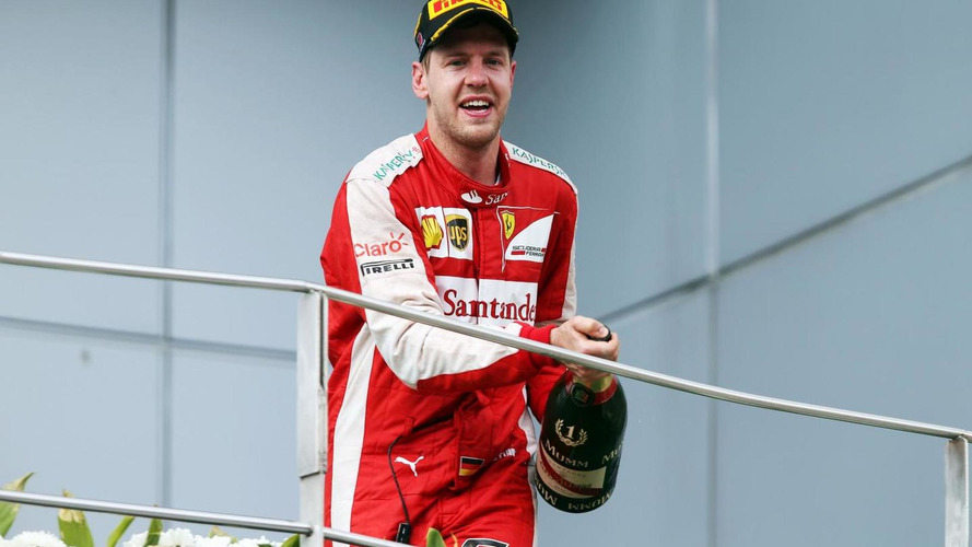 Vettel to be father again - Ecclestone