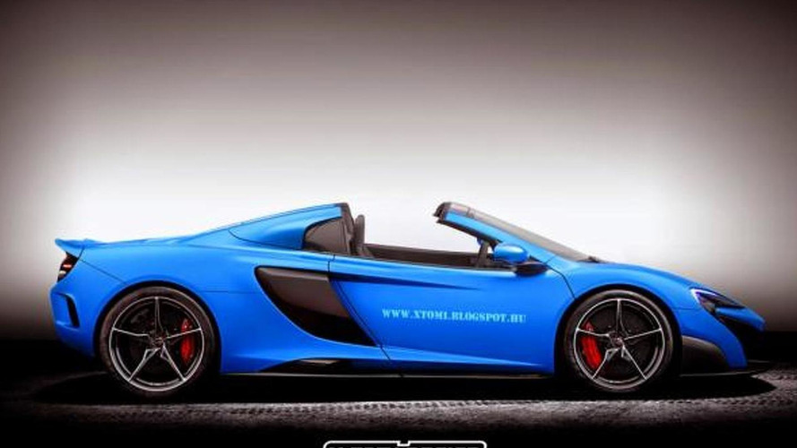 McLaren 675LT Spider officially confirmed
