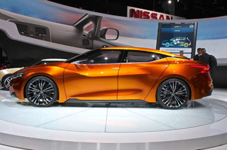 Nissan Schools the Competition With Sports Sedan Design