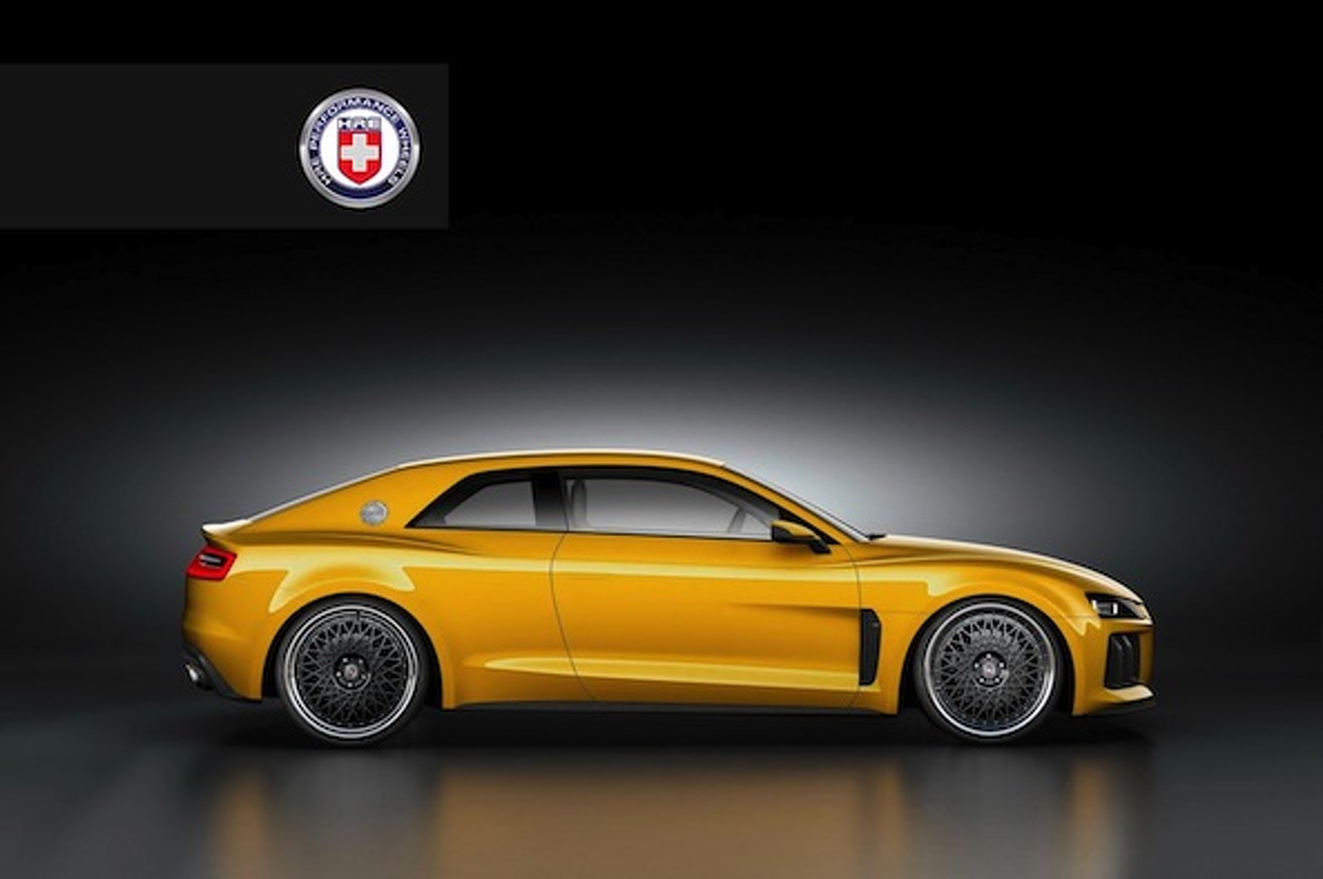 Audi Sport Quattro Concept Gets Dropped on a Set of HRE Wheels
