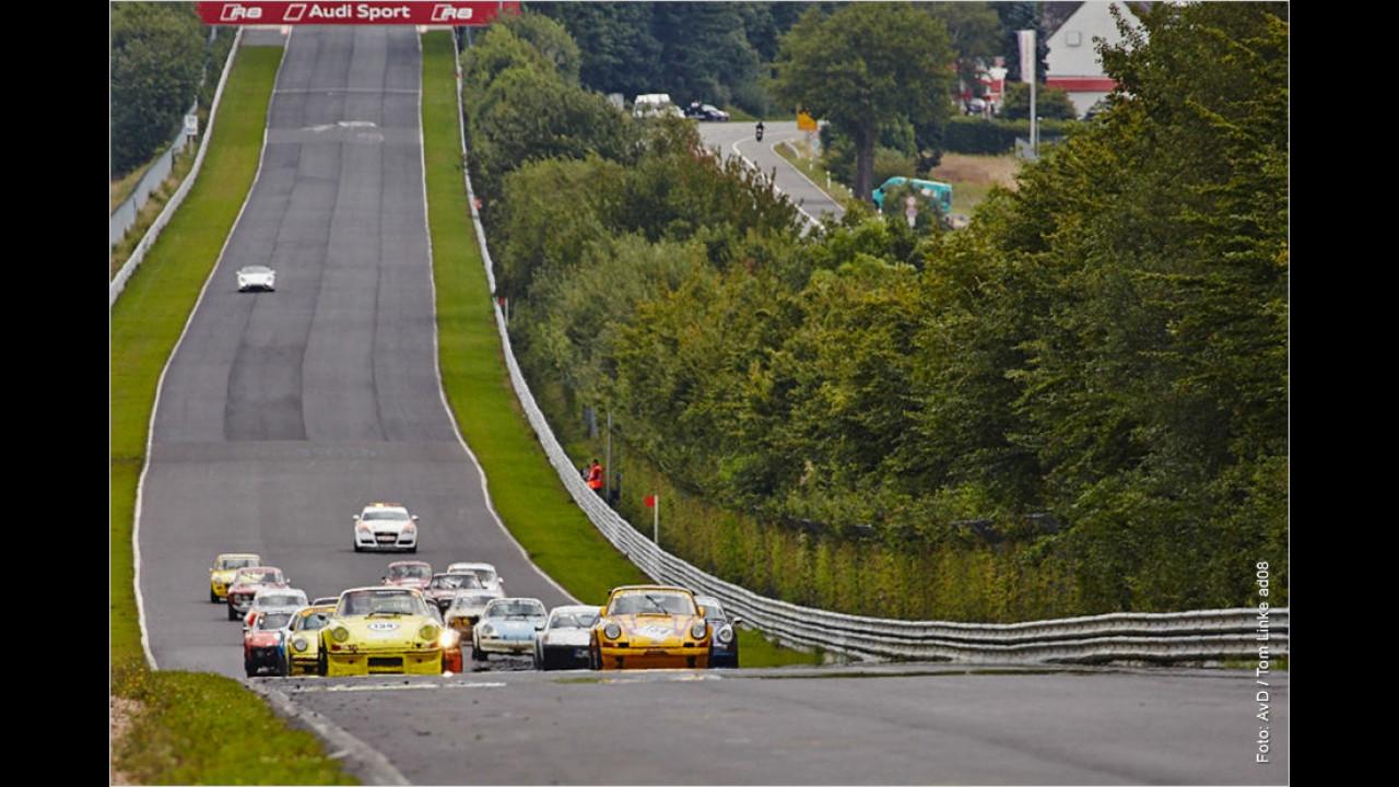 Die besten Bilder des Oldtimer-GP 2014