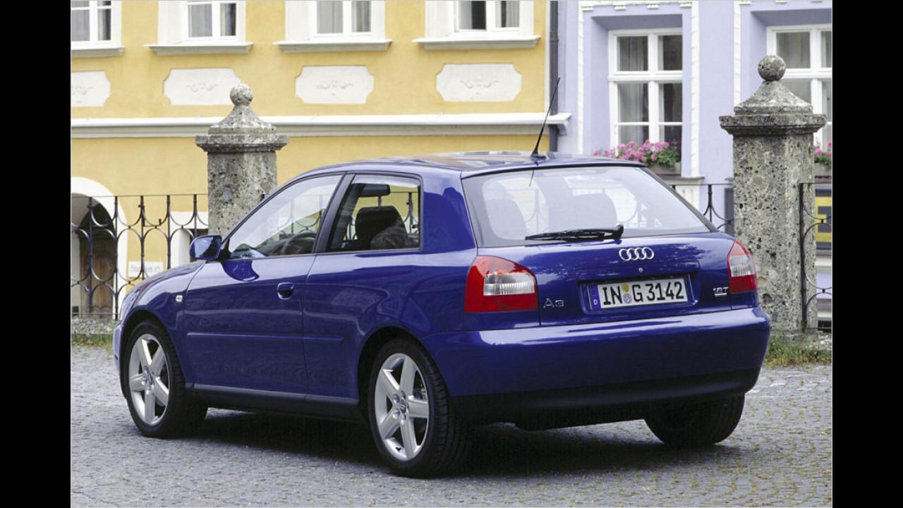 Platz 13: Audi A3 quattro 1.8T