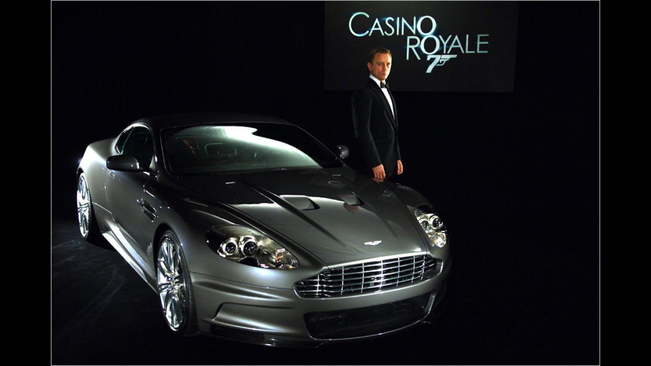 Aston Martin DBS V12 (Casino Royale, 2006/Ein Quantum Trost, 2008)