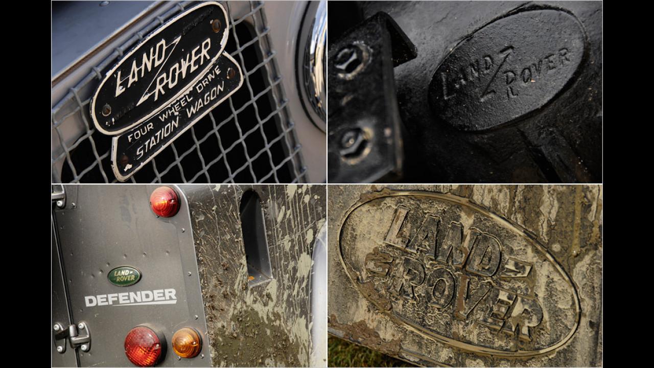 Die heiligen Insignien des Land Rover Defender