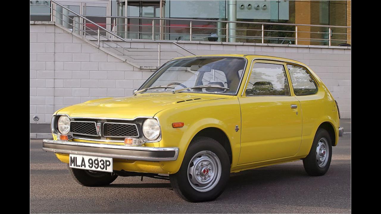 40 Jahre Honda Civic